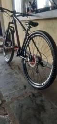 Título do anúncio: Bike aro 29 boa fraco hidráulico pra sair rapido
