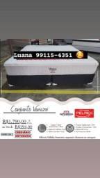 Título do anúncio: Cama Queen Veneza na promoção Direto de Fábrica Entregamos no mesmo dia