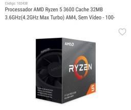 Título do anúncio: Processador AMD Ryzen 5 3600 ( Novo )