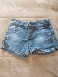 Shorts Jeans Mania Kids - 12 anos