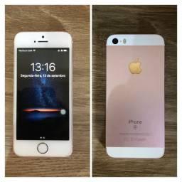 Título do anúncio: iPhone SE 16GB Rosé