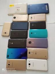 Lote de celulares para recuperar e aproveitar peças sem garantia