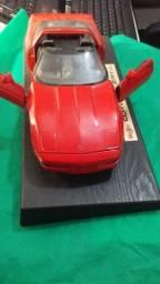 miniatura  Corvette 1/24 Fast & Furious / zr1 - corvette - vermelho coleção