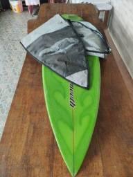 Prancha Surf + capa Ruthess