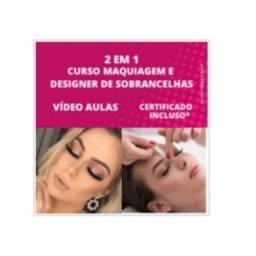 PROMOÇÃO COMBO 2 EM 1 - CURSO DE MAQUIAGEM E DESIGNER SOBRANCELHAS VAGAS LIMITADAS!!!!