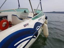 Lancha Real Boats Summer 19 pés, Motor 115hp - 2001