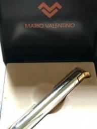 Isqueiro Valentino Original em ouro branco e amarelo!!!!