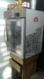 Freezer vitrine Stela Artois