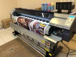 Impressora Eco Solvente e sublimatica Sun Special 1.80M