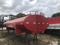 Tanque de água pipa 18 mil litros, aferido no Imetro