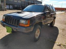 Jeep Grand Cherokee Limited 1996 Com Mecânica Hilux D4D 2008 Diesel 3.0    1996