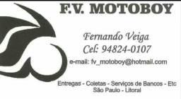 Serviços de motoboy ( santana )