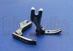 Calcador de metal para zipper P363 para máquina de costura reta