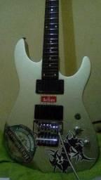 Guitarra Waldman com Floyd Rose (Ponte flutuante)