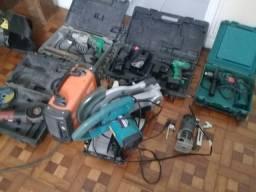 Máquinas para uso profissional