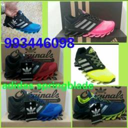 Tênis asics e Adidas springblade