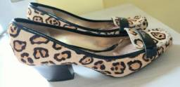Sapato de tigresa da marca Dumond número 38