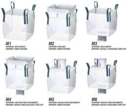 Big Bag- Embalagens bolsões para transporte