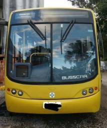 Ônibus 2001 com documentação de motorhome