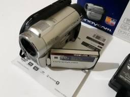 Filmadora Sony Handycam 60x Câmera DCR-DVD 650 comprar usado  Praia Grande