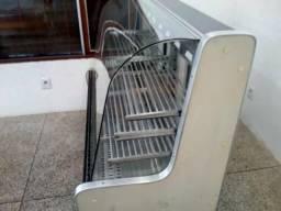 Balcão para padaria seco refrigerado e um quente