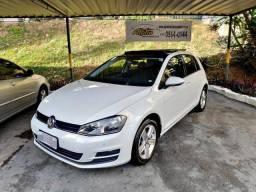 Vw - Volkswagen Golf Comfortline 1.4 + Teto - 2015