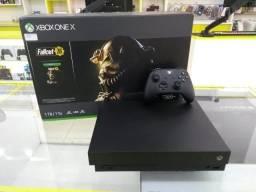 Xbox One X 1TB + Fallout 76 + 12 Meses de Garantia