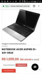Notebook Acer comprar usado  Belém
