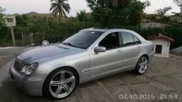 Mercedes c180 segundo dono c 104.000 km originais Troco caminhonete diesel - 2002