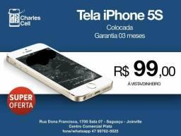 Tela iPhone 5S - SUPER OFERTA comprar usado  Joinville