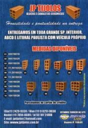 Promoção tijolo bloquinho baiano 6 furos tijolo 11,5x14x24 Região Itu Sorocaba Salto