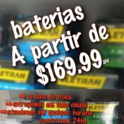 Baterias de todas as amperagens