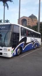 Vendo ou troco Ônibus rodoviario volvo b10m busscar 360