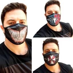 Usado, Máscara Proteção Venom, Homem Aranha, Umbrella Corporation, Personalizada Tecido comprar usado  Ribeirão Preto