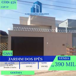 Casa De 3 Quartos - Jardim dos Ipês - Goiânia