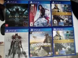 Jogos PS4 para troca