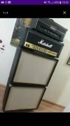 Caixa Gabinete de Guitarra 2x12 com falantes comprar usado  São José dos Campos