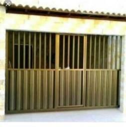 Portão portas e janelas na promoção