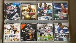 Lote de jogos PS3