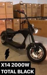 Moto Elétrico chopper semi-nova