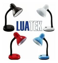 Luminária de Mesa Metal Abajur Lâmpada Articulável Luatek Lk-778
