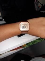 Relógio Casio na caixa