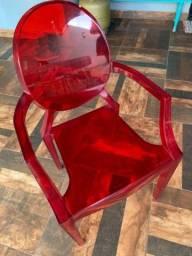 Cadeiras Acrílico