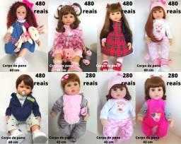 Boneca Bebe Reborn Realista e Siliconada a partir de 280 reais valores nas fotos