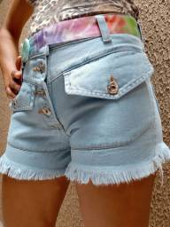 Shorts Jeans feminino R$ 49,00
