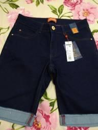 Bermuda handara jeans com Lycra n 42 nova
