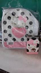 Bolsa hello kitty com o perfume