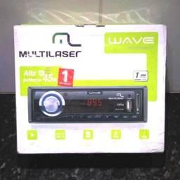 Radio Automotivo Multilaser Wave (Novo Lacrado)