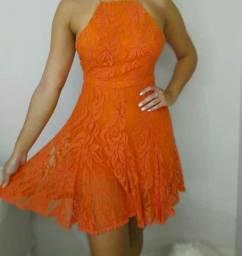 Vestido DRESS TO  laranja