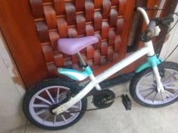Bicicleta bandeirante Neco Frozen